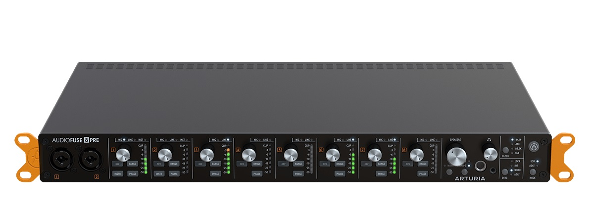 Arturia AudioFuse 8Pre Audio Interfaces | Sudeepaudio com