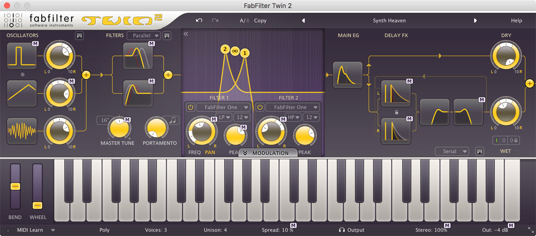 Fab Filter Twin 2 Plugins | Sudeepaudio com