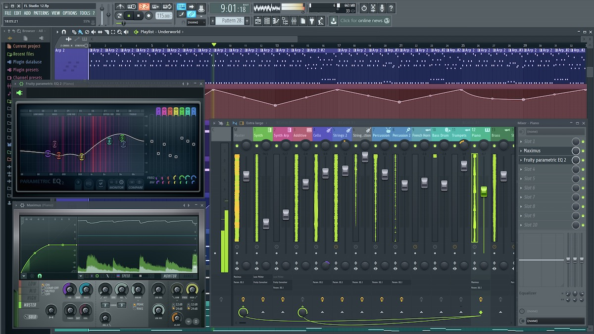 Image Line FL Studio 20 1 Producer Edition (download) DAW