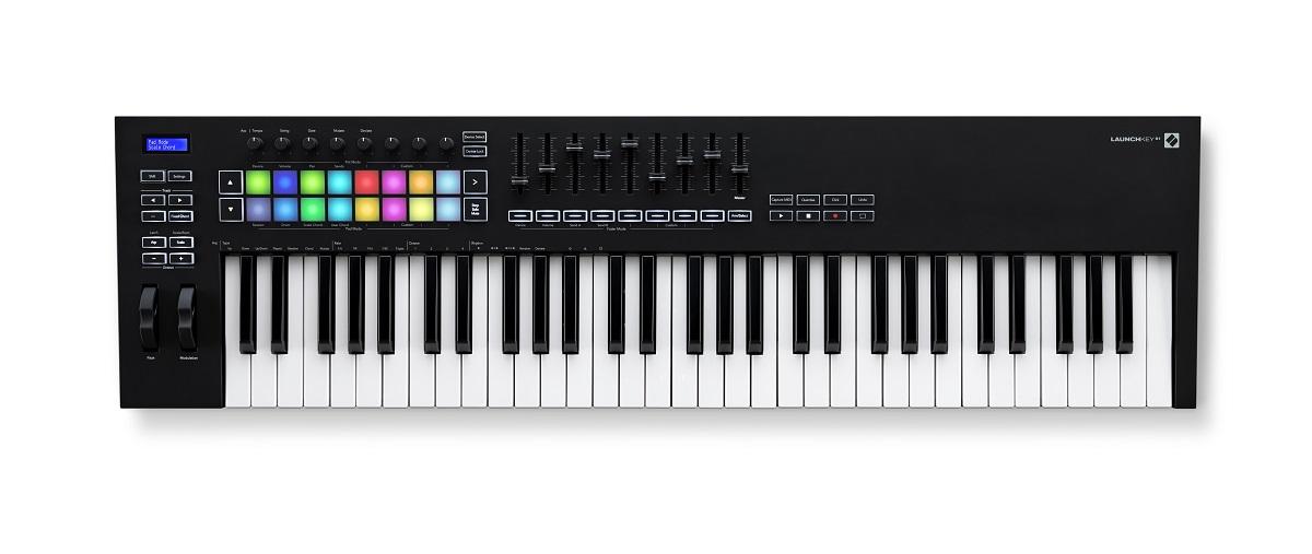 novation launchkey 61 mk2 midi keyboards. Black Bedroom Furniture Sets. Home Design Ideas
