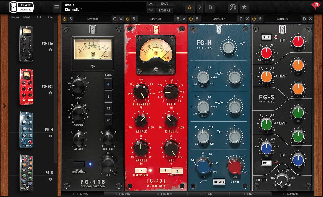 Slate Digital Virtual Mix Rack (VMR) Plugins | Sudeepaudio com