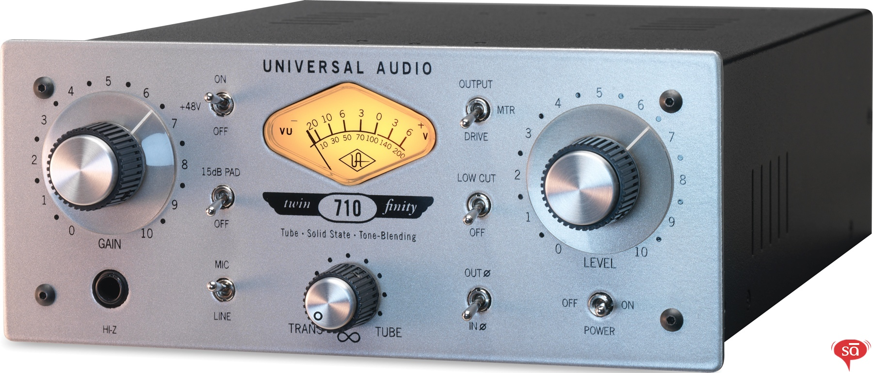 Universal Audio 710 Twin-Finity Tone-Blending Mic